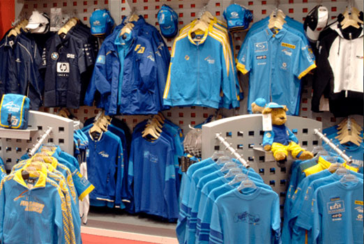 Branding deportivo de Fernando Alonso. Precisport